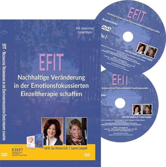 EFIT - Nachhaltige Veränderung in der Emotionsfokussierten Einzeltherapie schaffen 2DVDs